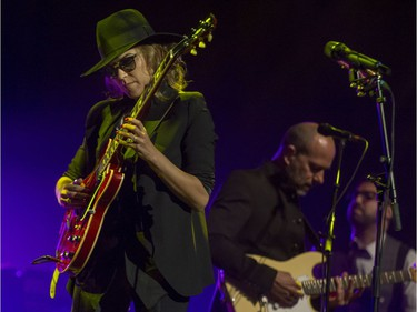 American singer-songwriter Melody Gardot performs at Salle Wilfrid-Pelletier of Place des Arts on Wednesday, June 29, 2016 in the opening indoor concert of the 37th Montreal International Jazz Festival.