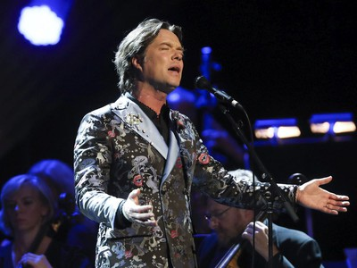 Rufus Wainwright performs with an orchestra at Place des Arts' Salle Wilfrid-Pelletier after a performance of his opera Prima Donna. This was part of the Montreal International Jazz Festival Saturday July 2, 2016.