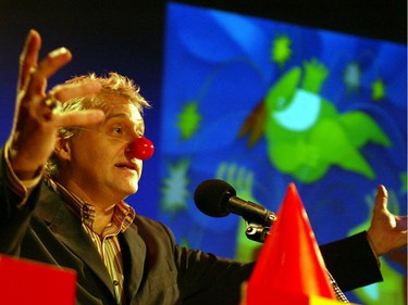 Just for Laughs founder Gilbert Rozon was in a party mood in 2002 when he announced the lineup for the 20th edition of the comedy festival.