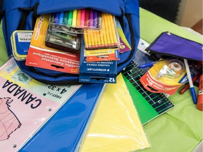 Welcome Hall Mission expects to hand out about 3,000 filled school bags during their 16th annual Rentrée la tête haute event.