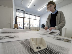 Megan Voghell is one of the artists who contributed works to Partage Montéal earlier this year.