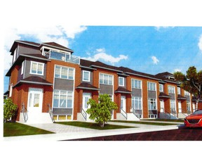 Any development project, such as the pictured townhouse development slated for Beaurepaire Drive in Beaconsfield, faces fierce resistance in the municipality.