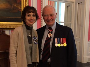 Teresa Dellar, executive director and co-founder of the West Island Palliative Care Residence, was awarded the Meritorious Service Cross (Civil Division) by His Excellency the Right Hon. David Johnston, Governor General of Canada, on Nov. 25 for her contribution to palliative care in Canada and the community.
