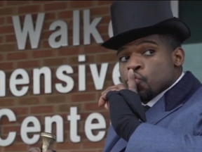 Nashville Predators defenceman P.K. Subban surprises some sick kids in Tennessee.