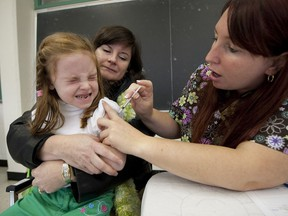 The Quebec Health Department's ban on medical accessory fees comes into effect Thursday. Doctors who once vaccinated children say they are not offering the service because they can no longer charge $10 to $20 for it.