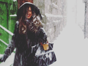 This image was posted to Instagram by @desmast, showing #mtl_snowystreets.