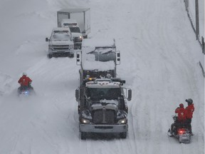 Is it OK that hundreds of motorists were stranded overnight on snowbound Highway 13? Of course not, writes Montreal Gazette editor Lucinda Chodan. Has some of the reaction to the Potter article been over the top?  Absolutely.