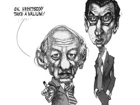This famous Aislin cartoon appeared in the Montreal Gazette on Nov. 16, 1976.