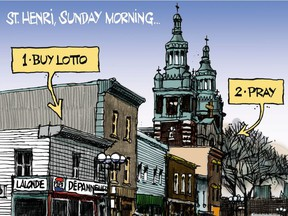 St-Henri on a Sunday morning (from Jan. 15, 2011)