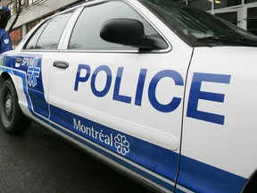 Montreal police car.