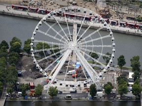 La Grande Roue in the Old Port of Montreal Wednesday June 28, 2017.