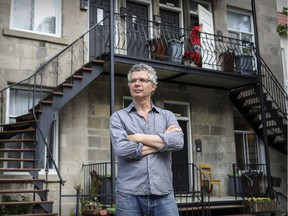 Martin Blanchard says a dramatic increase in Airbnb listings in La Petite-Patrie has resulted in a lack of available apartments for residents.