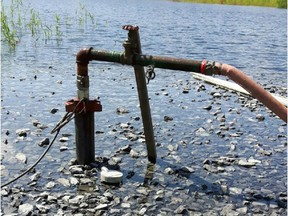 With a view to supplying the territory with quality water and a sufficient water flow rate, the Town of St-Lazare has recently initiated a hydrogeological study aimed at exploring water sources from three wells. (Photo courtesy of St-Lazare)