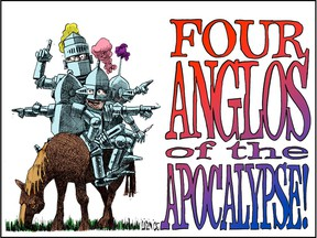 Four Anglos of the Apocalypse poster