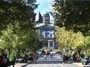 File photo of the McGill University campus.