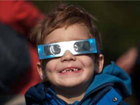 Those planning to watch the eclipse should buy protective glasses, advises Kelly Lepo of the McGill Space Institute.