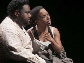 Black Theatre Workshop and Tableau D'Hôte's Angélique, starring Tristan D. Lalla and Jenny Brizard, received two awards at Monday's META gala.