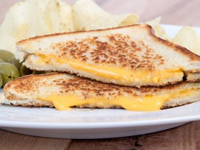 """The term """"un grilled-cheese"""" was officially declared a French word by the Office québécois de la langue française."""