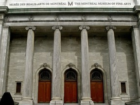 The Musée des Beaux-Arts on Sherbrooke St. in Montreal.