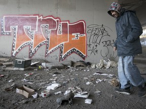 "Corey Jackson says he went looking for Marc Crainchuk in his usual spot on the evening of Nov. 18 — beneath the Ville-Marie Expressway. ""He was always shaking, you know, so we would check up on him sometimes."""