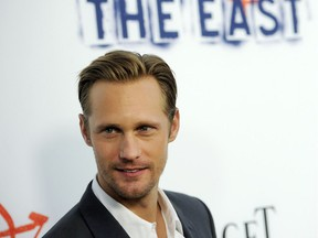 """Alexander Skarsgard  Cast member Alexander Skarsgard arrives at the Los Angeles premiere of """"The East"""" at the ArcLight Hollywood on Tuesday, May 28, 2013 in Los Angeles. (Photo by Chris Pizzello/Invision/AP) ORG XMIT: CACP109  05281313632, 10038812, 14 Chris Pizzello, Chris Pizzello/Invision/AP"""