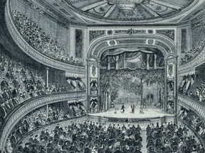 Vaudeville performances became so popular by 1896 that even the more traditional Academy of Music (opened in 1875) had only vaudeville performances on the playbill during their 1896 holiday season.