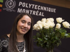 Ella Thomson, an electrical engineering graduate of the University of Manitoba, has won the Order of the White Rose scholarship. This $30,000 scholarship, created three years ago, is awarded annually to a Canadian woman engineering student who wishes to continue her engineering studies at the master's or doctoral level in Canada or elsewhere in the world.