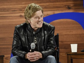 Robert Redford opened this year's Sundance party on Thursday, Jan. 18.