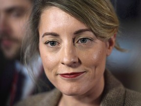 Minister of Canadian Heritage Melanie Joly.