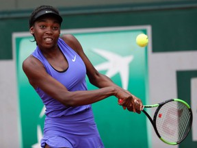 Montreal's Françoise Abanda is now the top-ranked female Canadian tennis player, having reach No. 128 on the WTA rankings.