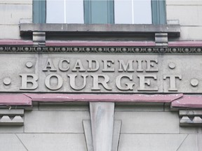 The old Bourget Academy building on Mongagne will be the site of one of two brand new public schools to be built in the thriving Peter-McGill district of Ville-Marie borough. (Graham Hughes/Montreal Gazette)