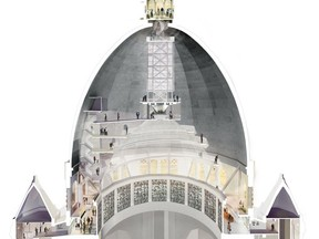 Beginning in 2020, visitors will be able to visit the interior of the dome at St. Joseph's Oratory and climb up to an observatory atop the dome.