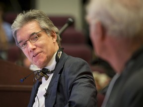 Daniel Turp at a 2013 symposium on religious freedom and education at McGill University. His legal battle against Ottawa over armoured-vehicle sales dates back to the sunset days of Stephen Harper's Conservative government.
