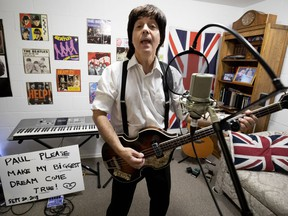 John Oriettas has spent 16 years playing Paul McCartney in his Beatles tribute band, Replay. Now he has asked via YouTube to join his hero onstage at Montreal's Bell Centre on Sept. 20, 2018.