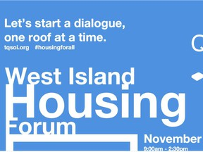 Housing forum coming up in November.
