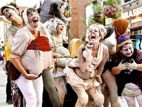 Les Zoubliettes take part in the MTL Clown Fest, which is more than fright wigs and red noses.