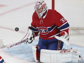 After battling the flu for about a week, Carey Price is healthy and is scheduled to start for the Canadiens against the Blues.