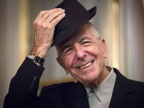 """""""Even when there were long gaps"""" between albums and books, Leonard Cohen """"was always, always writing,"""" said The Flame's co-editor Alexandra Pleshoyano."""