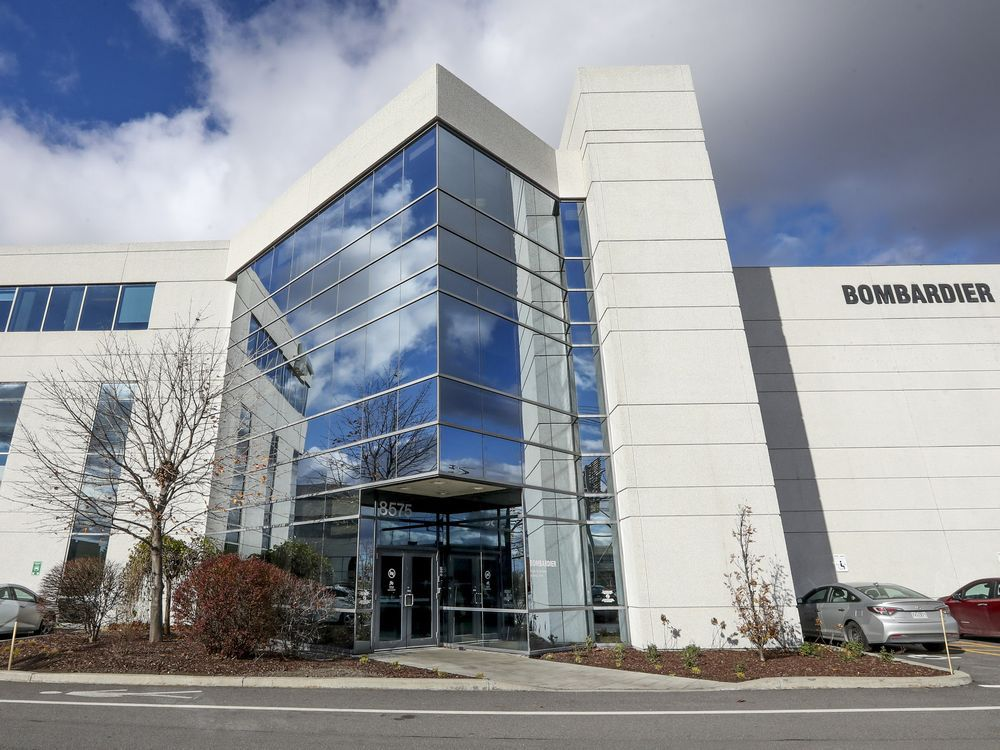 The Bombardier building in Dorval houses the company's business aircrafts's flight and technical training division. Bombardier is selling that part of its business to CAE.