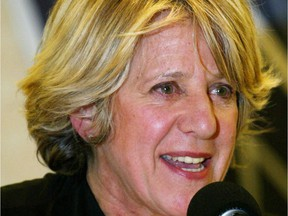 """Denise Bombardier in a 2003 file photo: """"Even in ... Le Journal de Montréal, with its deep lineup of minority-baiting columnists, I can't recall ever reading anything as disturbing as Denise Bombardier's Jan. 5 column titled 'Les québécophobes,' """" Don Macpherson writes."""