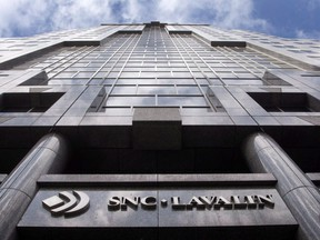 The offices of SNC-Lavalin are seen in Montreal on March 26, 2012.