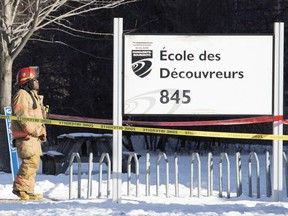 As a result of a carbon monoxide leak on Monday, 43 people — 35 children and eight adults — at École des Découvreurs lost consciousness, vomited, felt faint or reported headaches.