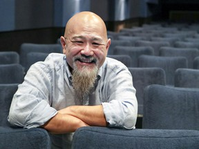 Michael Fukushima, producer of the short film Animal Behaviour, is seen at the National Film Board offices in Montreal on Monday, Feb. 11, 2019.  Animal Behaviour has been nominated for an Oscar for best animated short.