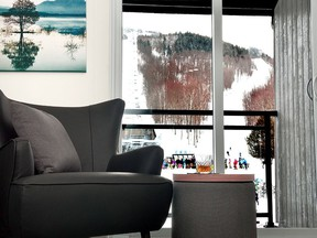 The ski-in-ski-out lodging on the second floor of MTN Haus has been totally overhauled.