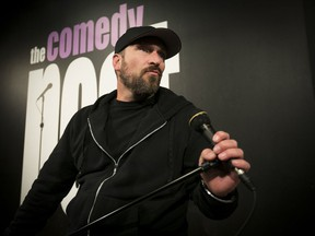 "For some comedians, says Montreal's Derek Seguin, ""this is a frightening and staggering switch and will be the end, in terms of them being able to do comedy exclusively."""
