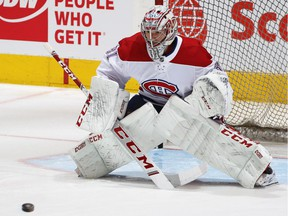 With points precious this time of the NHL season, there's a good chance Canadiens goalie Carey Price will start back-to-back games against the Devils and Wings on Monday and Tuesday.