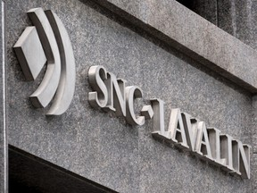 The SNC-Lavalin headquarters is seen in Montreal on Tuesday, February 12, 2019.