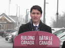 Prime Minister Justin Trudeau is seen in this screen shot from Canadian Press video about SNC-Lavalin and Huawei.