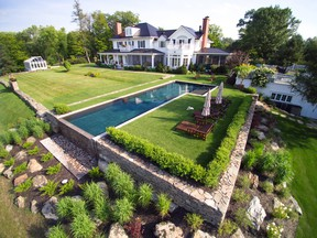 Backyard pools are extremely popular in Quebec, where we wait all year for summer.