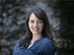 Sage Franch is a a guest at the startup fest, she is seen in Montreal, on Thursday, July 4, 2019.